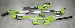 Greenworks Lithium-Ion Yard Tools