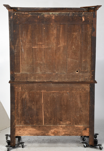 Provincial Louis XV Carved Fruitwood Cabinet