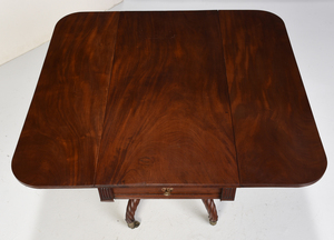 British Regency Mahogany Breakfast Table