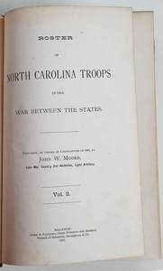 Roster of North Carolina Troops in the War...