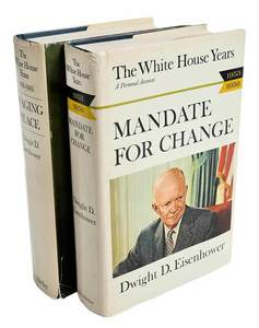 Two Signed Books by Dwight D Eisenhower