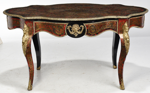 Louis XV Style Boulle Center Table