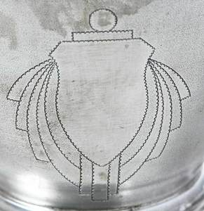Indian Colonial Art Deco Silver Coffee Service