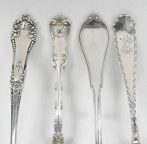 Four Sterling Serving Pieces