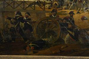 French Napoleonic War Painting