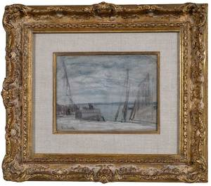 Attributed to Eugène Boudin