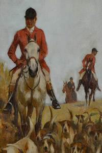 British School Sporting Painting
