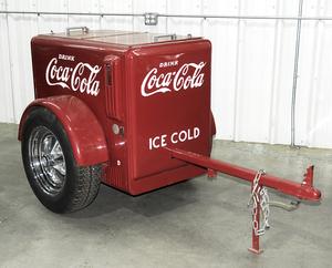 Coke Machine Trailer