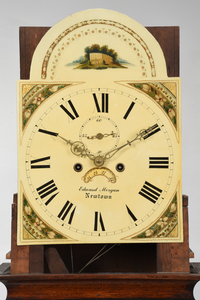Georgian Inlaid Tall Case Clock