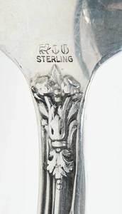Versailles Sterling Flatware, 154 Pieces