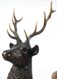 Two Black Forest Animal Carvings