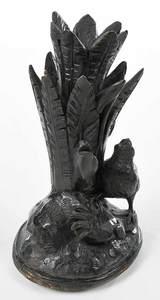 Black Forest Carved Figural Epergne