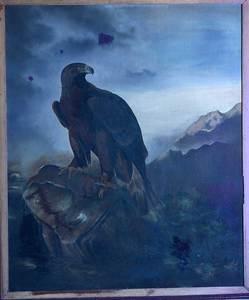 British School Ornithological Painting