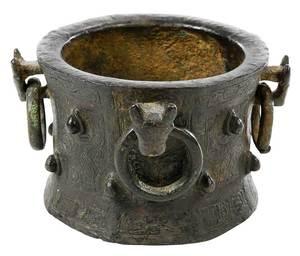 Early Seljuk Bronze Mortar
