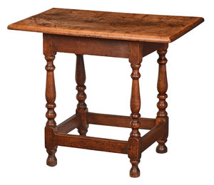 Fine American William and Mary Tavern Table