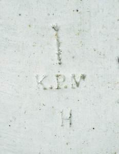 A Fine Berlin K.P.M. Porcelain Plaque