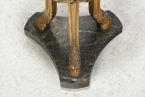 Louis XVI Style Carved and Gilt Wood Pedestal
