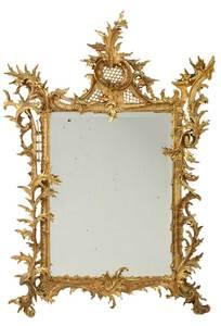 Fine Florentine Rococo Style Gilt Mirror