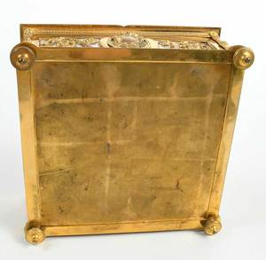 Doré Bronze and Mother of Pearl Dresser Box