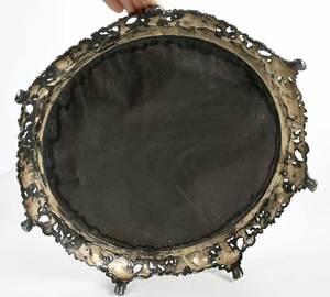 Silver Plate Mirrored Plateau