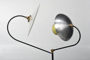 Mid Century Modern Reflector Floor Lamp