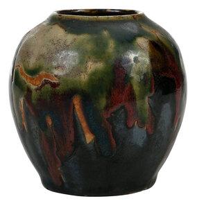 Bachelder Pottery Vase With Rare Glaze