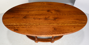 Neoclassical Style Figured Cherry Dining Table
