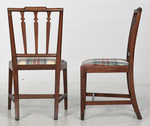 Pair of American Federal Mahogany Side Chairs