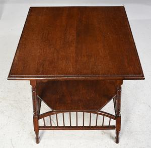 Aesthetic Movement Oak Side Table
