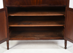 Southern Late Federal Mahogany Desk and Bookcase