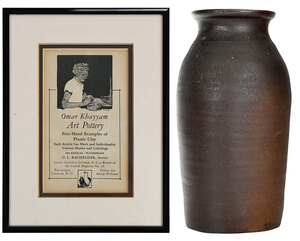 Monumental Signed, Stamped and Dated, Bachelder Jar