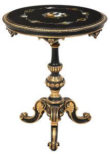 Italian Pietra Dura Side Table