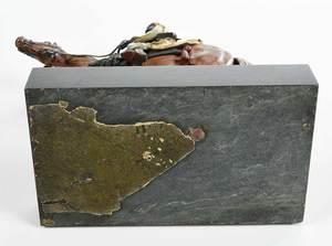 Franz Bermann Cold Painted Bronze