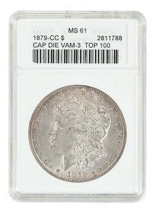 Uncirculated 1879-CC Morgan Dollar