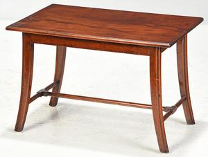 Regency Style Mahogany Low Table