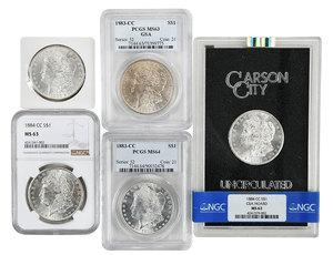 Carson City Morgan Silver Dollar Group