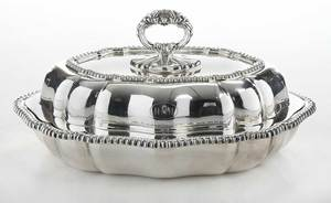 Tiffany Silver Plated Entree