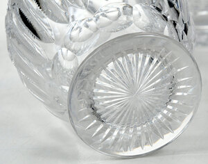 Four Cut Glass Decanters and Carafe