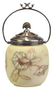 Mount Washington Crown Milano Cracker Jar