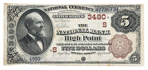 Scarce Bank of High Point National Note