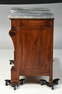 Classical Marble Top Commode