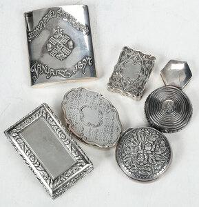 Seven Silver Cases