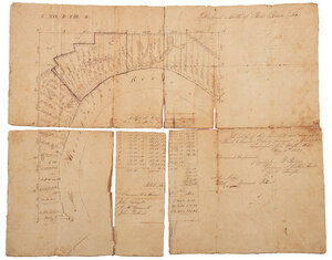 Early 19th Century Louisiana Land Survey