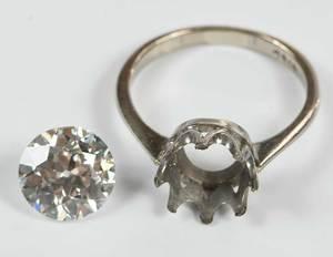 18kt. 2.62ct. Diamond Ring