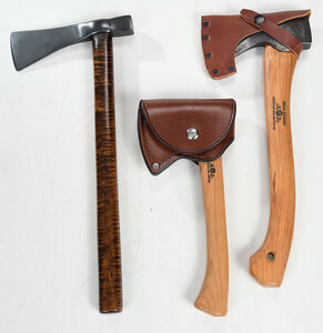 Two Swedish Hatchets, One Other