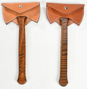 Two Lee Reeves Axes