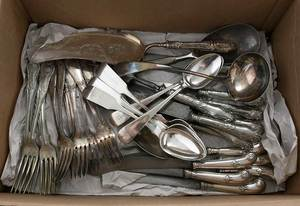 Large Assortment of Silver Flatware