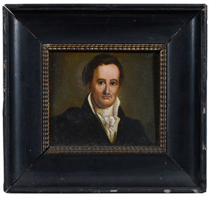 Three British School Portrait Miniatures