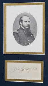 Three Union General Signatures