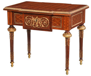 Louis XVI Style Bronze Mounted Low Table